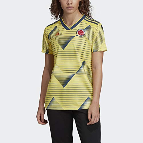 adidas Colombia Women's Home Soccer Jersey 2019 (XS)