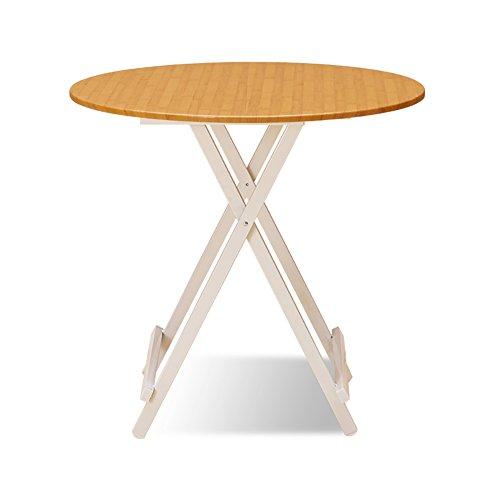 Outdoor klaptafel Computer Bureau Voor Camping Kleine Ronde Houten Desktop Keuken Eettafel Koffie Theetafel