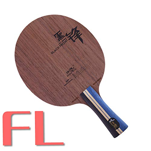Why Should You Buy Double Fish Black Front 7LAYERS Offensive Carbon Fiber Super Light Table Tennis P...
