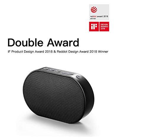 GGMM E2 Portable Speaker Bluetooth Speaker WiFi Wireless Speaker Outdoor Altavoz Bluetooth Soundbar Sound Box (Black)