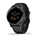 Garmin vívoactive 4S, Smaller-Sized GPS Smartwatch, Features Music, Body Energy Monitoring, Animated Workouts, Pulse Ox Sensors and More, Black (Renewed)