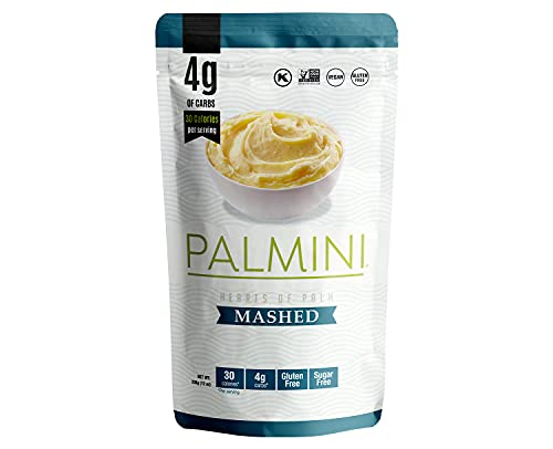 NEW!! Palmini Low Carb Mashed   4g of Carbs   As Seen On Shark Tank (12 Ounce (Pack of 1))