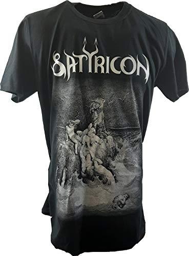 Satyricon - Burial Rite Band T-Shirt (XL)