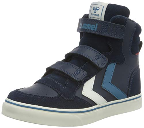 hummel STADIL PRO JR Sneaker, Schwarz (BLACK IRIS), 35 EU