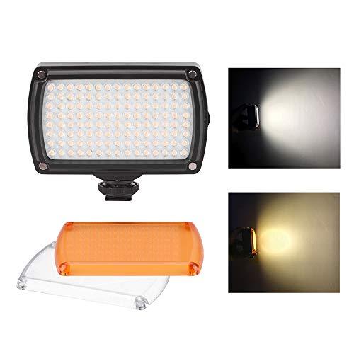 DishyKooker 120 LEDs, Videolicht, dimmbar, zweifarbig, für Go/Pro/D/JI OS/MO Mobile/zhi/yun/fei/yu Vimble Vlog-Taschenlampe, Fotografie