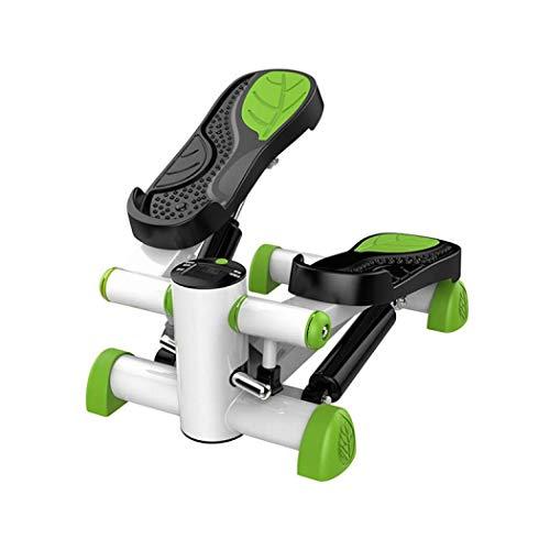 Cxmm Máquina de Ejercicios Paso a Paso Mini Stepper Multi-función Mute Step Machine Twister Stepper Ejercicio aeróbico Fitness Quemar calorías Hogar Gimnasio