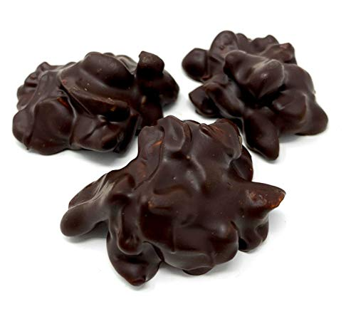 Andy Anand Sugar Free Old Fashioned Cashew Cluster of Dark Belgian Chocolate Gift Boxed & Greeting Card Delicious-Crunchy-Divine Birthday Valentine, Christmas, Mothers Fathers day, Anniversary Wedding