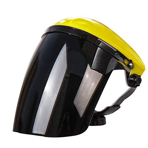 Beschermend vizier Veiligheid Anti Fog Splash Volgelaatsscherm Doorzichtig plastic vizier Eye Head Hat Anti Speeksel Splash voor buitenkeuken,D