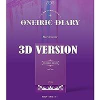IZ*ONE - 3RD MINI ALBUM [ ONEIRIC DIARY ] 3D VER. + 折りたたみポスター