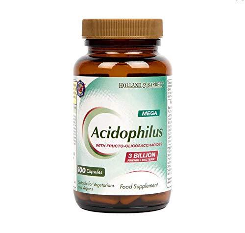 Holland and Barrett Mega Potency Acidophilus 100 Capsules