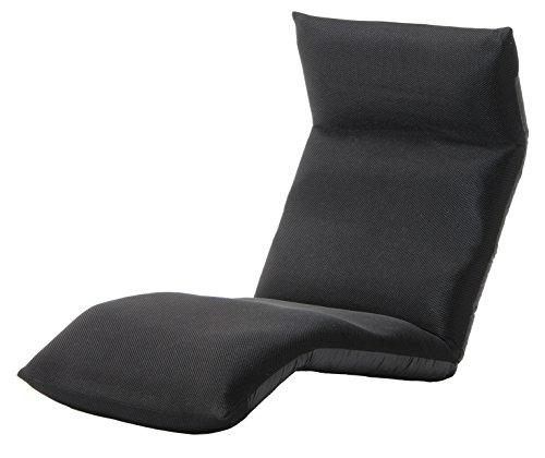 セルタン 日本製 高反発 座椅子 和楽の雲 LIGHT 下タイプ メッシュダークブラウン 頭部脚部リクライニング A448下a-349BR