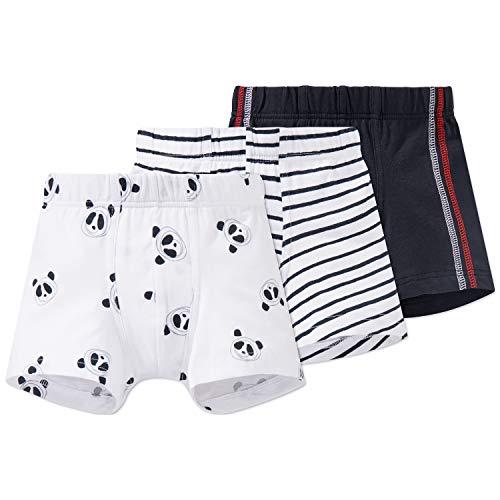 Schiesser Jungen 3pack Hip Shorts Boxershorts, Mehrfarbig (Sortiert 1 901), 140 (3er Pack)