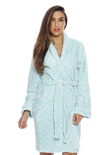 Just Love Kimono Robe / Bath Robes for Women, Size1X, Mint