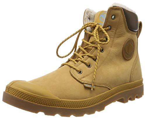 Palladium Pampa Sport Shearling Waterproof, Unisex-Erwachsene, Klassische Stiefel, Gelb (846 Amber Gold/mid Gum), 40 EU
