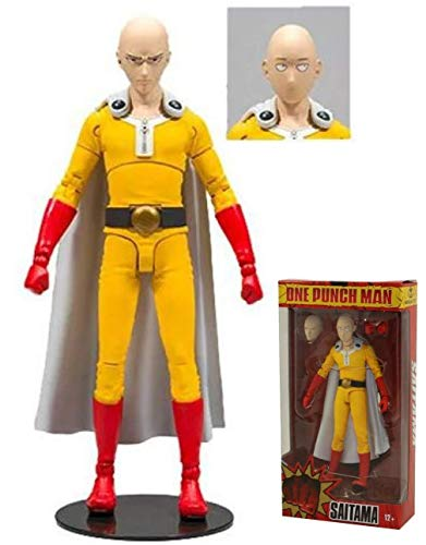 McFarlane Toys One Punch Man Saitama Action Figure 7 inch Ultra Articulation Action Figure
