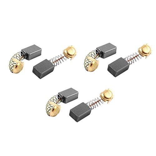 sourcingmap 6pcs Escobillas de carbono del Motor eléctrico de 16mm x 11mm...