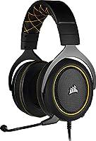 Corsair HS60 PRO Surround Auriculares para Juegos (7.1 Sonido envolvente, Espuma viscoelástica almohadillas,...