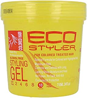 Eco styler styling gel colored hair yellow 710 ml