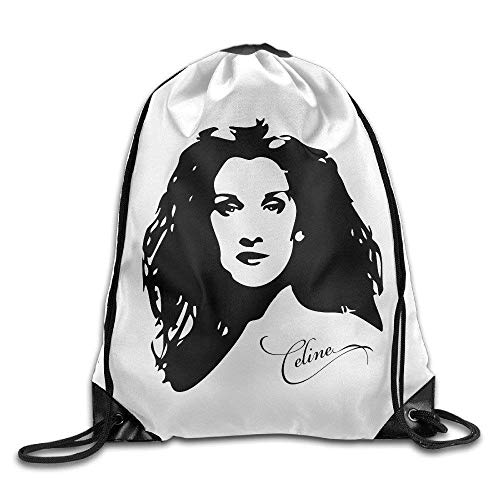 HRTSHRTE Premium Celine Dion Gym Drawstring Bags Backpack