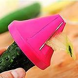 Timetided Herramientas de Cocina Accesorios Gadget Embudo Modelo Cortadora en Espiral Dispositivo de trituración de Verduras Ensalada de Cocina Cortador de rábano de Zanahoria