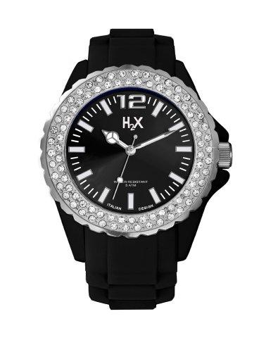 H2X REEF Lady Clear Stones SS382DN1 - Orologio da polso Donna