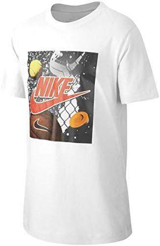 Nike T-Shirt Camiseta de Manga Corta Blanco para Nino - CT2634100