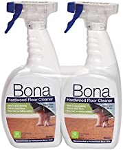 2 Pack Bona Hardwood Floor Cleaning Spray 32oz