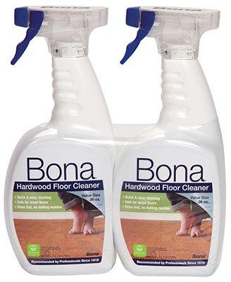 2 Pack Bona Hardwood Floor Cleaning Spray 32oz
