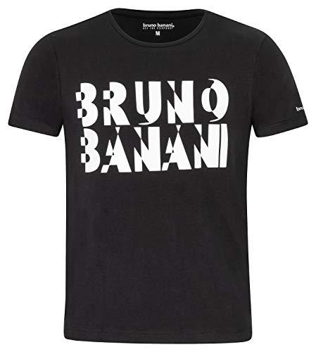 bruno banani Herren T-Shirt schwarz, Größe M