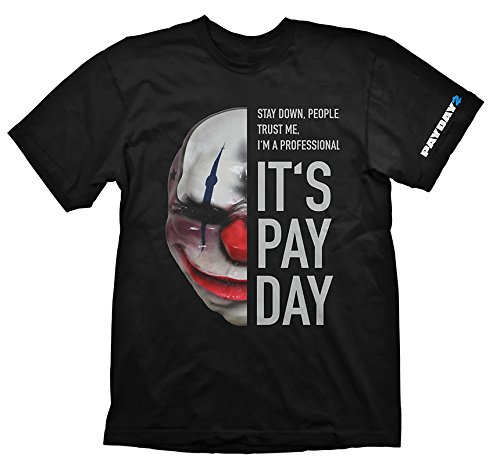 Camiseta Payday 2 Mascara Chains Xxl