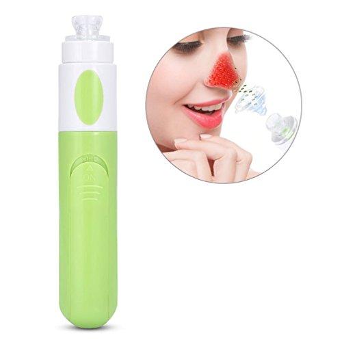 Aspirateur à dépression de comédons Aspirateur à dépression de comédons nettoyeur de pores(Vert)
