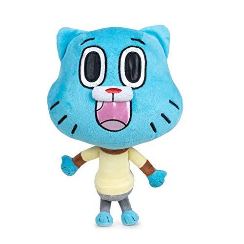 Lo Straordinario Mondo di Gumball - Peluches Gumball Refresh qualità Super Soft (28cm, Gumball)