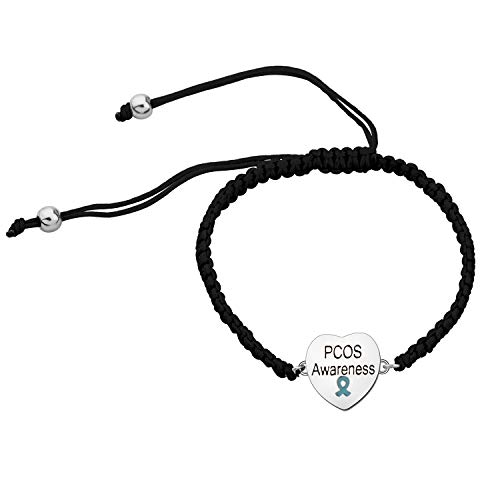 CHOORO PCOS Gift Polycystic Ovary Syndrome Gift PCOS Bracelet PCOS Awareness Jewelry