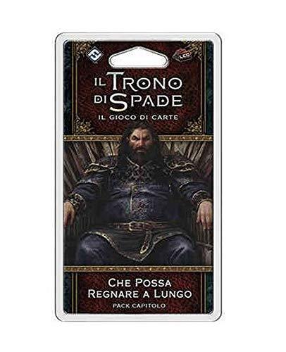 Asmodee Italia-Juego de Tronos LCG 2nd Ed. Che Possa regnare a larga expansión juego de cartas en italiano, color, 9249 , color/modelo surtido