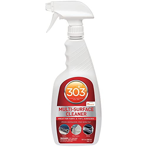 303 Multi-Surface Cleaner - Safely Cleans All Water Safe Surfaces - Ultimate Cleaning Power - Rinses Residue Free - Recommended by Sunbrella, 32 fl. oz. (30204)
