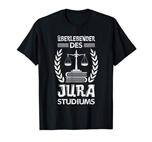 Jura Studium Jura Staatsexamen Referendariat Jurastudent T-Shirt