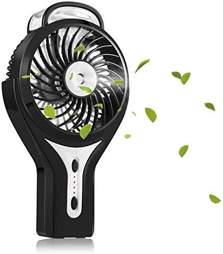 DAI QI Spray de Ventilador de la bruma Mini USB portátil humidificador de Vapor de Agua del Aire Acondicionado hidratante Ventilador Portable