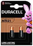 2 x <span class='highlight'>Duracell</span> 23A, 23AE, A23, V23GA, <span class='highlight'>MN21</span>, LRV08 <span class='highlight'>12</span>v <span class='highlight'>Alkaline</span> batteries for car security alarm systems and car keys