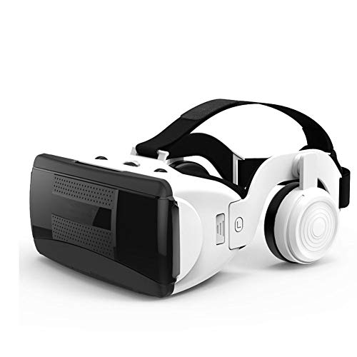 Best Price VR Glasses 3D Virtual Reality Glasses, 3D Glasses with HiFi VR Headphones for 4.7-6.3 inc...