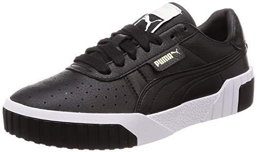 Puma Damen Cali WN's Sneaker, Schwarz (Puma Black-Puma White), 38.5 EU