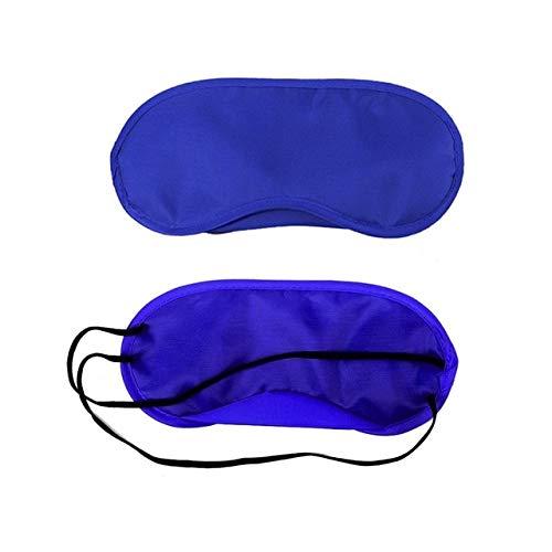 Travel Sleep Rest 3D Eye Mask Dormir Con Los Ojos Vendados Les Yeux Voyage Sleep Aid Rest Cover Eponge Shade Royal Blue