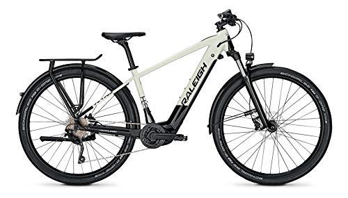 Derby Cycle Raleigh Dundee 10 Bosch Elektro Fahrrad 2021 (29' Herren Diamant L/48cm, Starwhite/Magicblack Glossy)