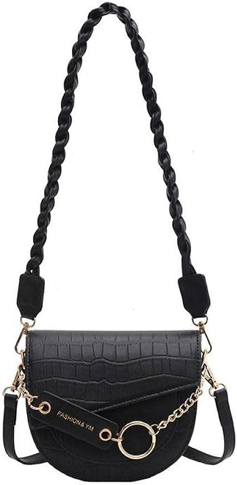 Crossbody Bags for Women Luxury Brand Crocodile Leat Max 44% OFF Saddle Topics on TV