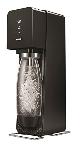 SodaStream Source Sparkling Water Maker, Carbonator Not Included, Black