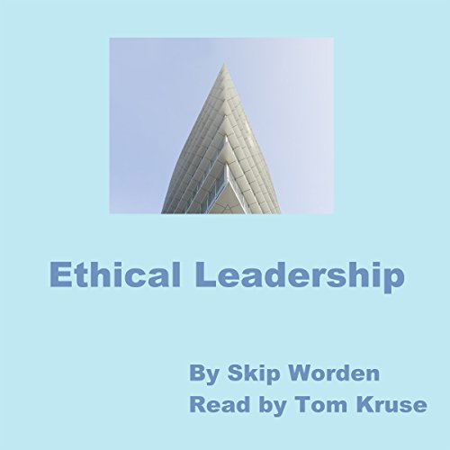Ethical Leadership audiobook cover art