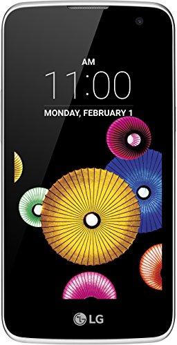 LG K4 Smartphone (11,4 cm (4,5 Zoll) Touch-Bildschirm, 8 GB interner Speicher, Android 5.1) weiß
