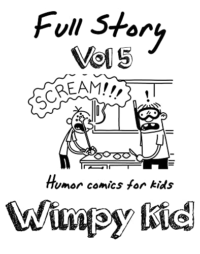 Humor comics for kids Wimpy Kid Full Story: Funny Wimpy Kid Full Story Vol.5 (English Edition)