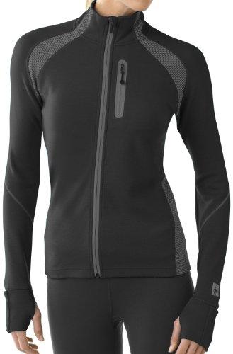 Smartwool thermopullover pTM pour Femme Light Full Zip XL Noir - Noir