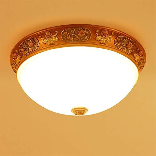 Lampadario In stile europeo Lampada da soffitto, Pastorale Soggiorno Lampada, camera da letto della lampada, resina di arte di ferro semplice European Restaurant Art Soffitto luce della lampada