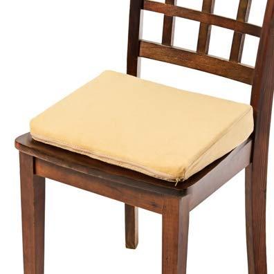 Comfort Finds Seat Riser Chair Cushion - Car Booster Height Support Wedge Pillow (Tan, Standard Foam) …